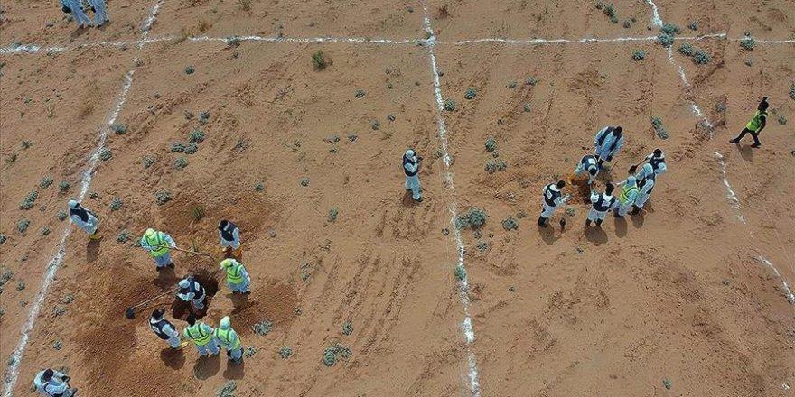 Libya'daki toplu mezarlardan 225 ceset çıkarıldı