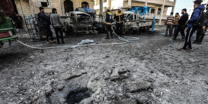 Esed rejiminin düzenlediği saldırıda iki sivil hayatını kaybetti