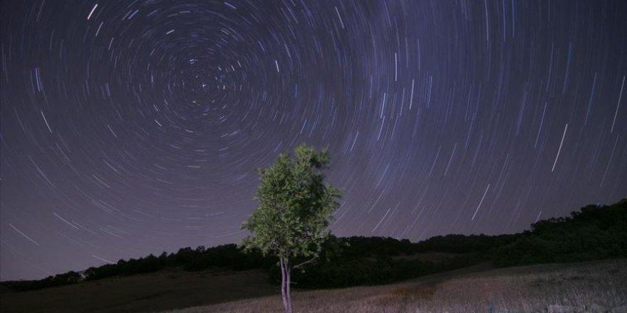 Ovacık'ta yıldızlar pozlama tekniğiyle görüntülendi