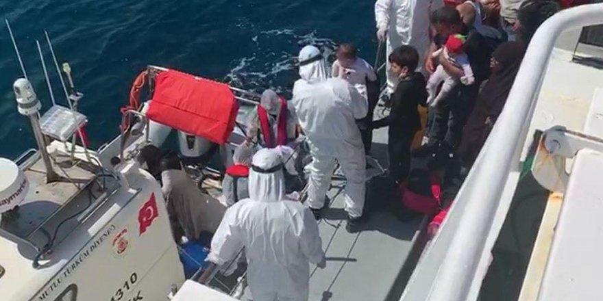 530 düzensiz göçmen kurtarıldı