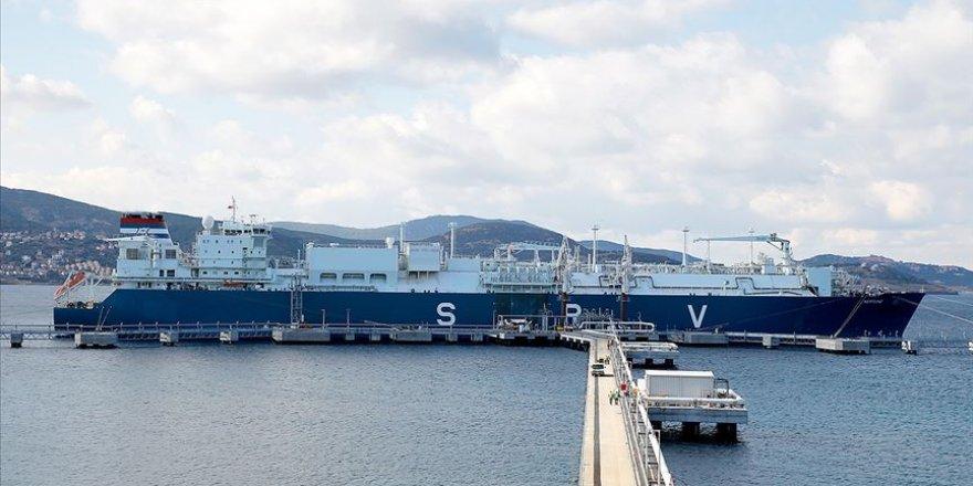 Türkiye'nin ABD'den LNG ithalatı artıyor