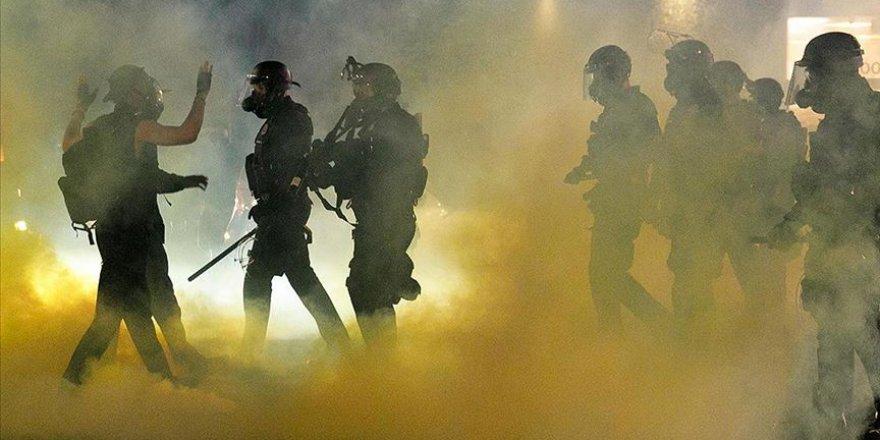 Polis şiddetine karşı ABD'de devam eden protestolarda 1 kişi vuruldu