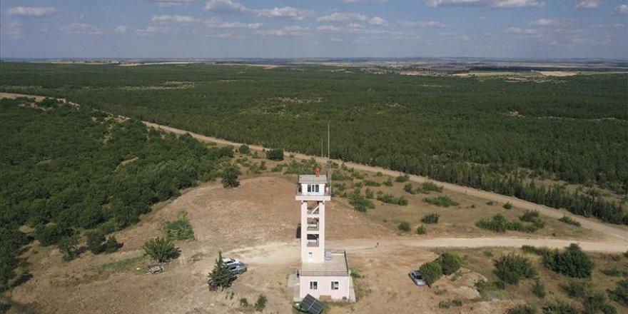 3 yangın kulesi Edirne'nin ormanlarını gözetliyor