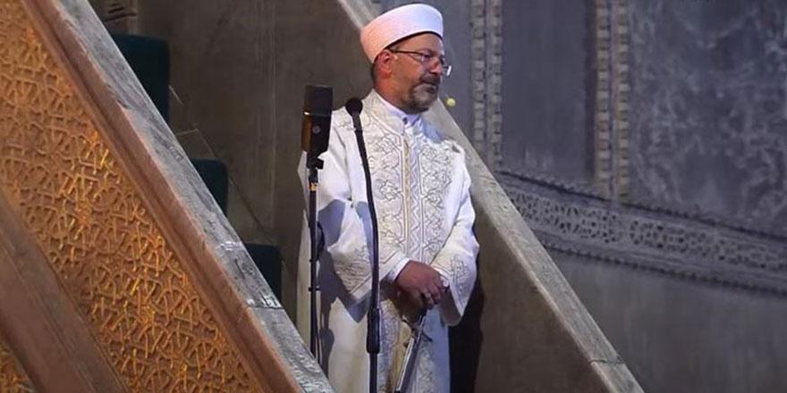 Ayasofya Camii'nin kapıları, Allah'ın bütün kullarına açık olacak
