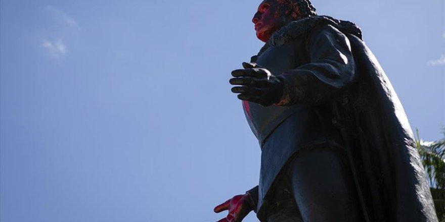 ABD'de Kristof Kolomb'un iki heykeli daha yerinden söküldü