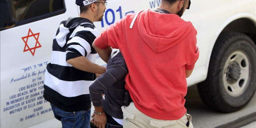 Kudüs'te 3 Filistinli çocuk İsrail polisince gözaltına alındı