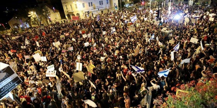 İsrail'de Netanyahu karşıtı protestolar sürüyor