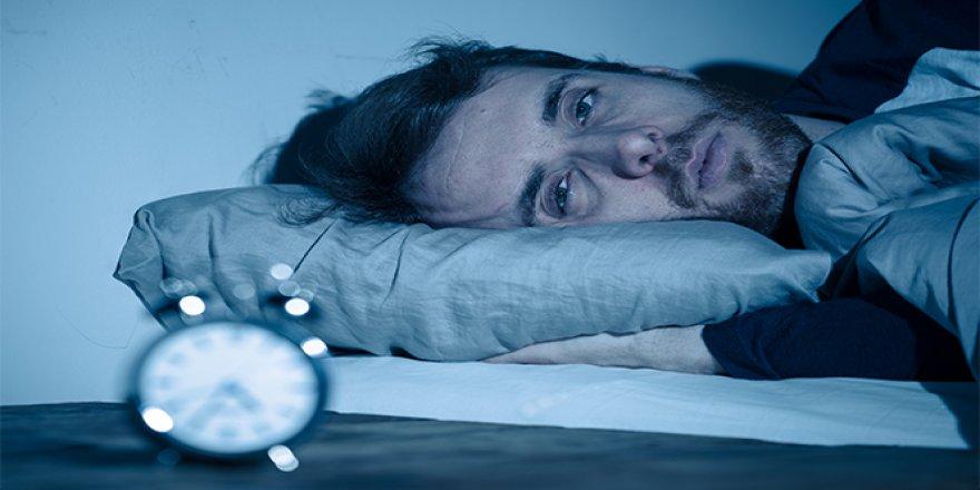 Kronik uykusuzluk şeker hastalığına davetiye çıkarıyor