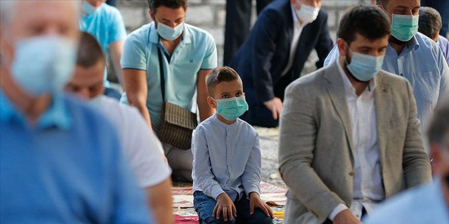 Koronavirüse rağmen Kurban Bayramı'na coşkulu karşılama
