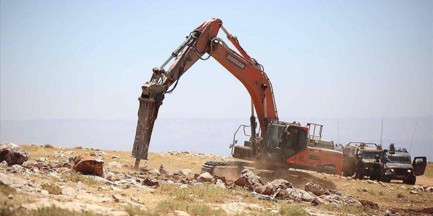 Filistin işgal altındaki Kudüs'e gayrimeşru sanayi bölgesi kurulması kararını kınadı