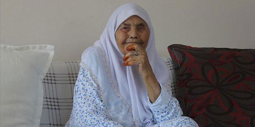 Elife nine 106 yaşında: Namaz, şükür ve günde iki öğün doğal beslenme