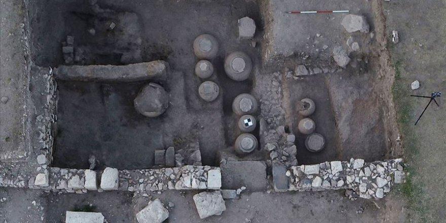 Amorium Antik Kenti'nde Bizans dönemin ait tahıl ambarı ortaya çıktı