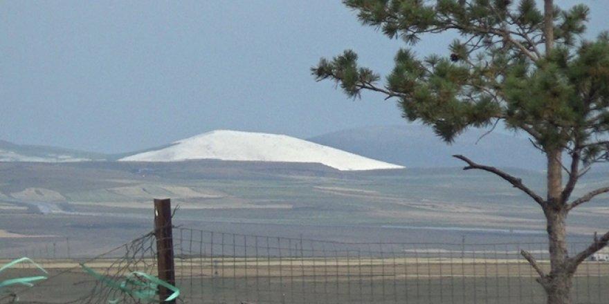 Kars'ta yüksek kesimler beyaz rahmete büründü