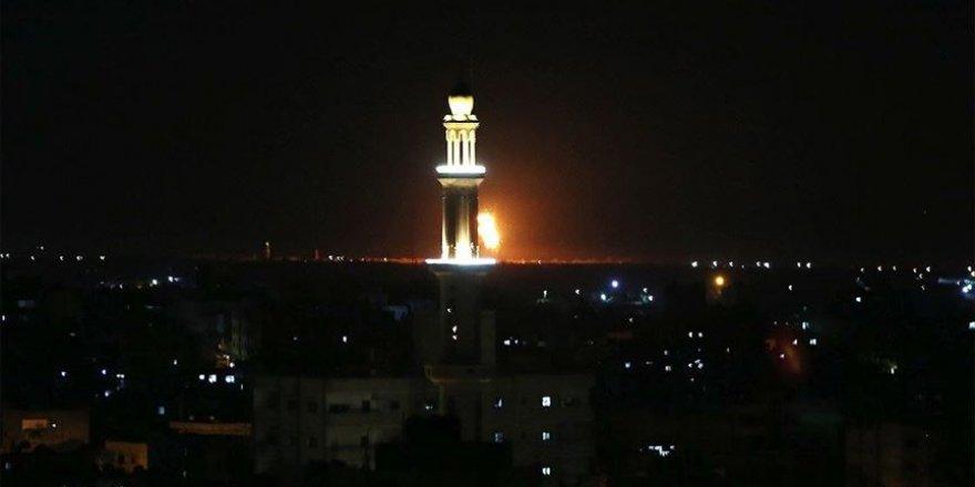 İsrail Gazze'ye saldırı düzenledi