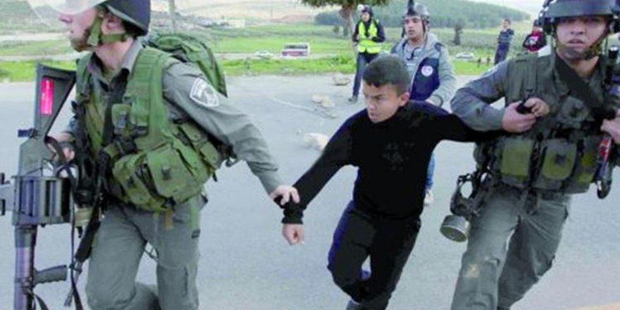 Filistin'de 350 kişi esir alındı