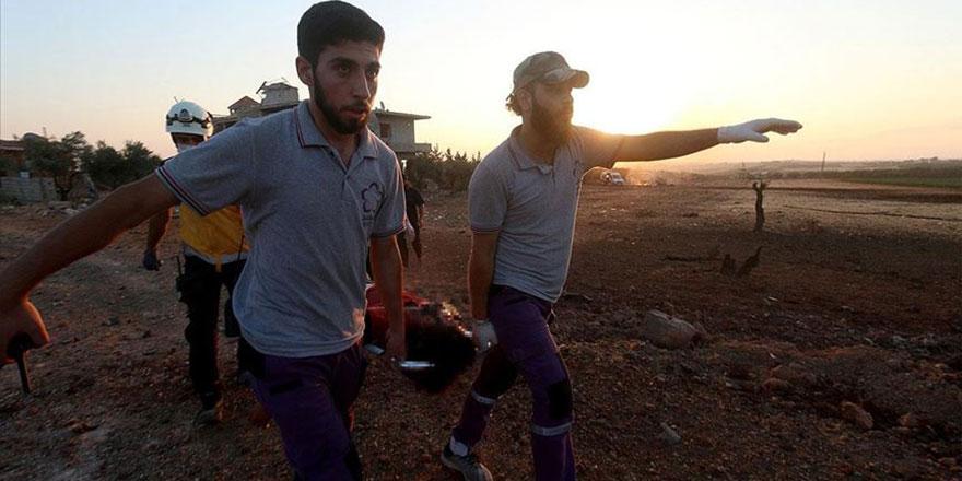 Rusya, bayram günü İdlib'i bombaladı 3 sivil öldürüldü