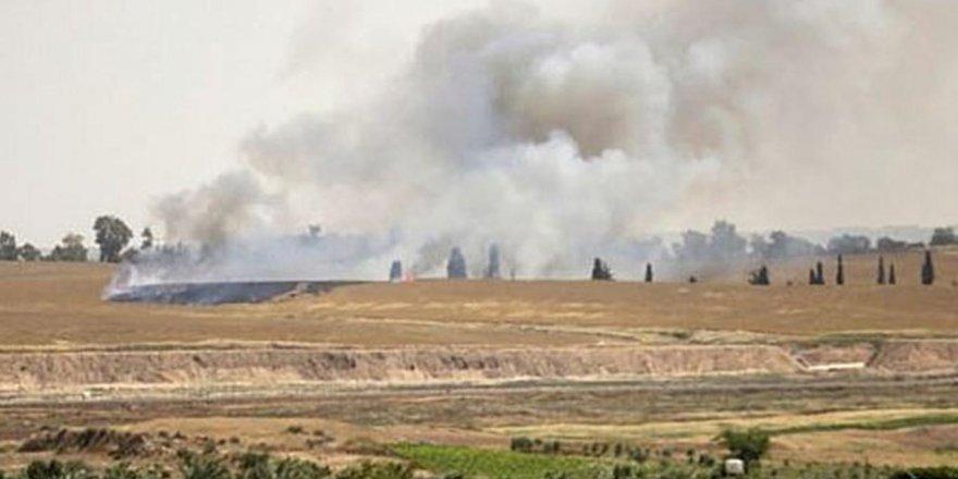Batı Şeria'da tarım arazileri ateşe verildi