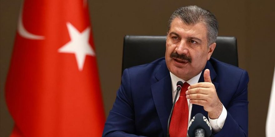 Sağlık Bakanı Koca 'yakın mesafe' uyarısında bulundu
