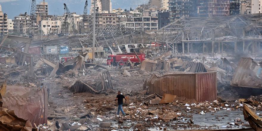 Beyrut Limanı'ndaki patlamada can kaybı 154'e çıktı