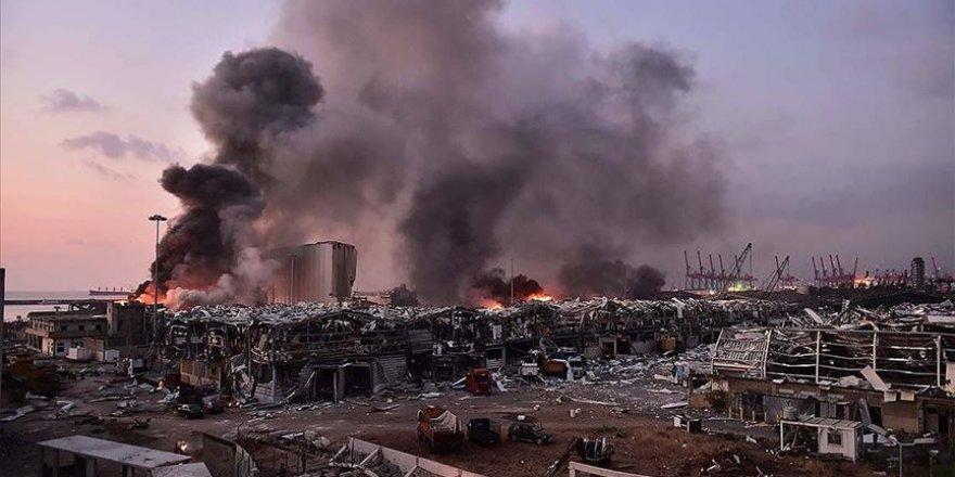 Beyrut'taki patlamada 100 kişi hayatını kaybetti