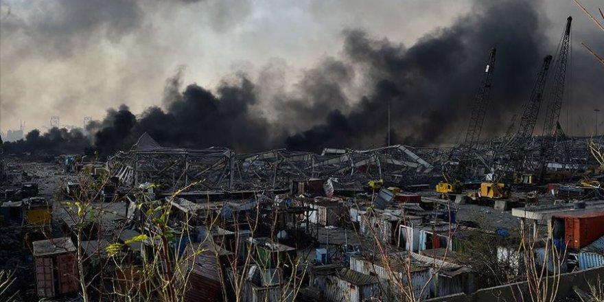 Lübnan'daki patlamada can kaybı 113'e yükseldi