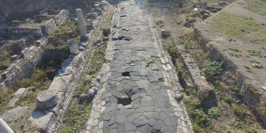 Mersin'de temel kazısında rastlanılan Antik Roma Yolu turizme kazandırılacak