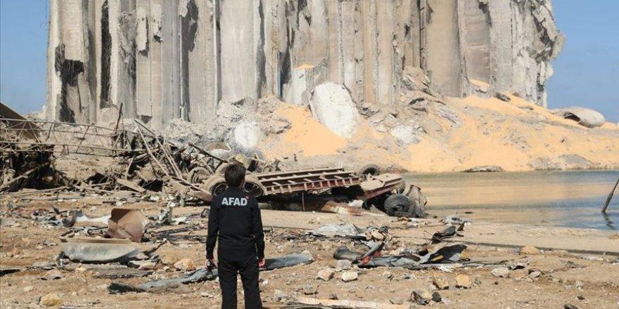 AFAD Beyrut'ta arama kurtarma çalışmaları başlattı