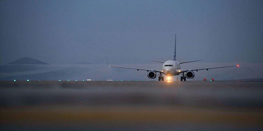 Temmuzda yaklaşık 6,2 milyon yolcu hava yoluyla taşındı