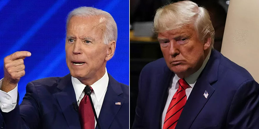 ABD'deki rekor başkanlık düellosunda, Biden'dan Trump'a 'inşallahlı' yanıt