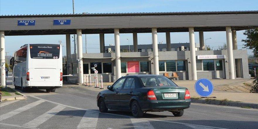 Yunanistan'ın Kipi Sınır Kapısı 8 saat süreyle kapatacak