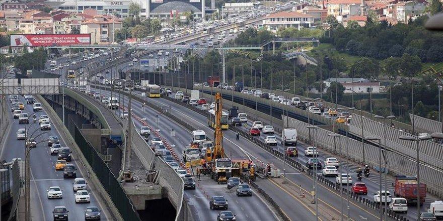 Haliç Köprüsü'ndeki bakım çalışmalarında ikinci etap başladı
