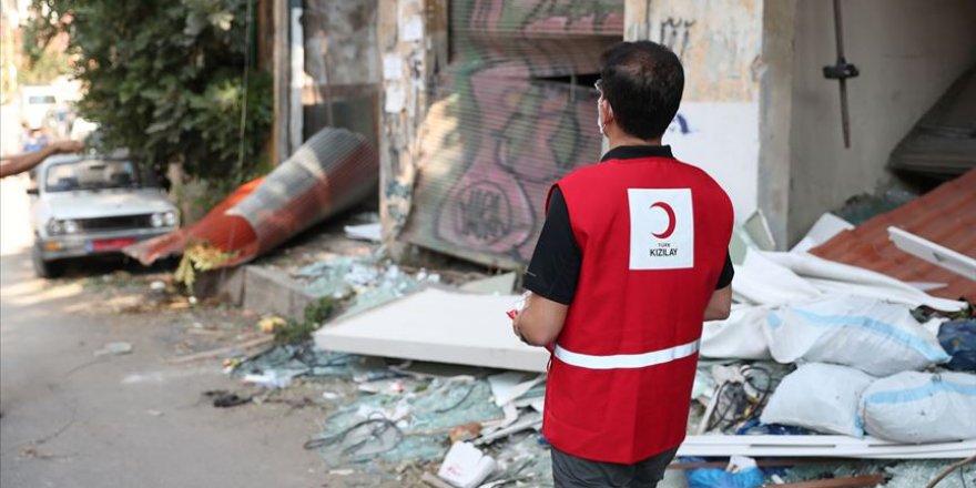 Türk Kızılay Beyrut için yardım kampanyası başlattı