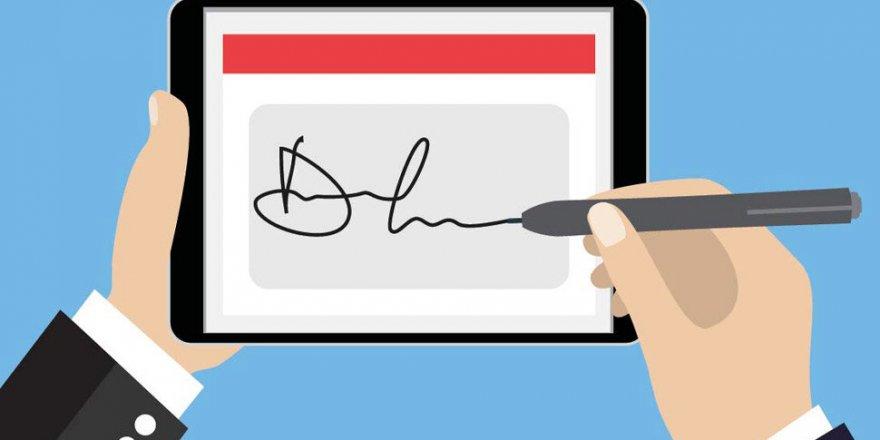 Türkiye'de e-imza kullanımı yüzde 205 arttı