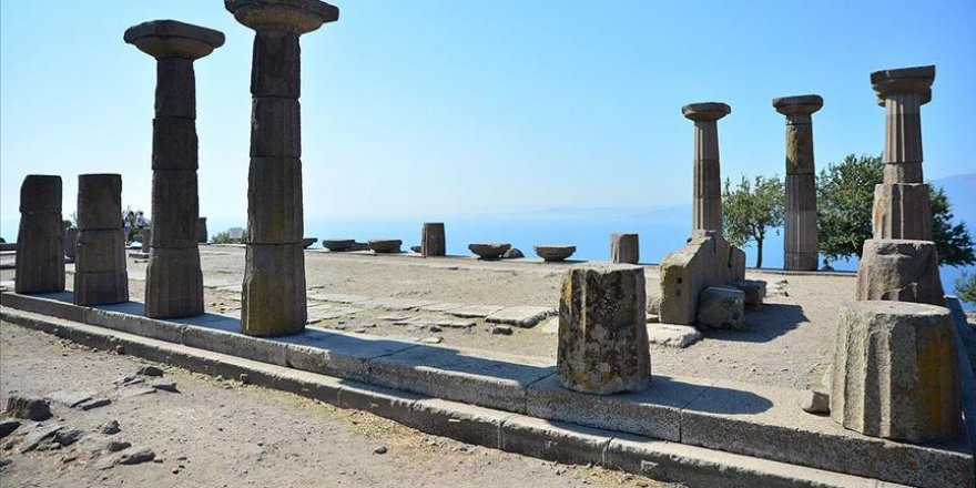 Assos dünyanın sayılı antik kentleri arasında