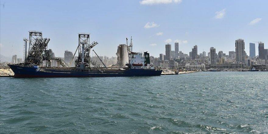 Beyrut Limanı'ndaki 2 vinç tekrardan faaliyete girdi