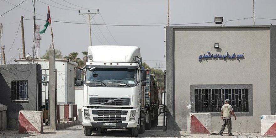 Gazze'nin tek ticaret kapısını İsrail tarafından kapatılıyor