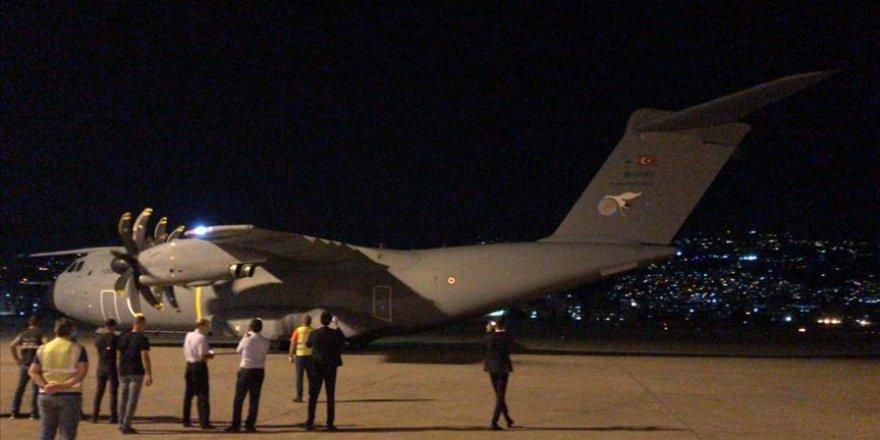 Türkiye Lübnan'a tıbbi malzeme gönderdi