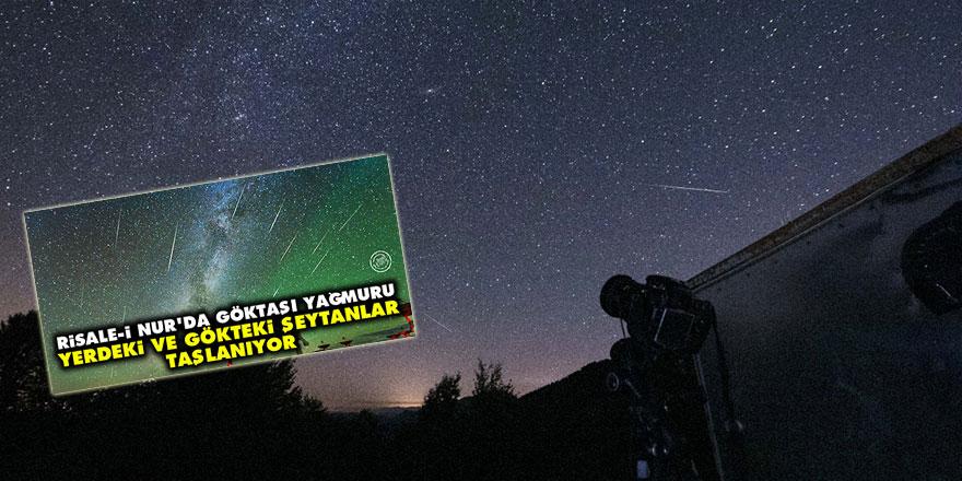 Meteor yağmuru Türkiye'den çok net izlendi