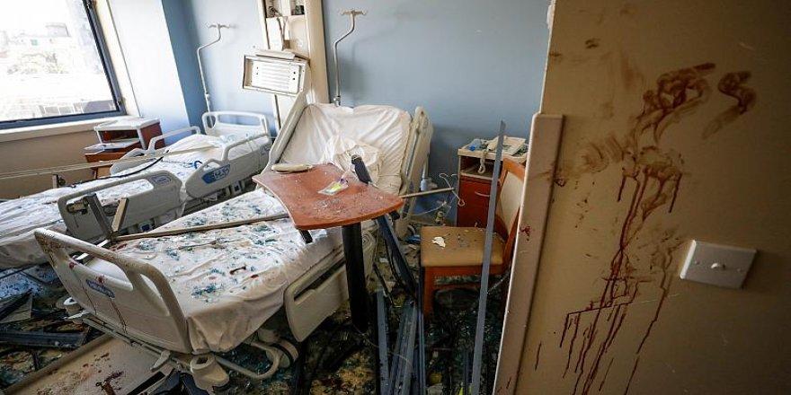 Beyrut'ta sağlık merkezleri işlevsiz kaldı