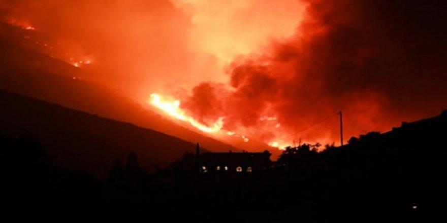 Los Angeles yakınlarında çıkan orman yangını yayılmayı sürdürüyor