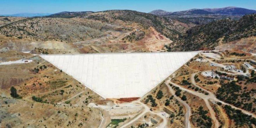 Bozkır Barajı su depolamaya başlayacak