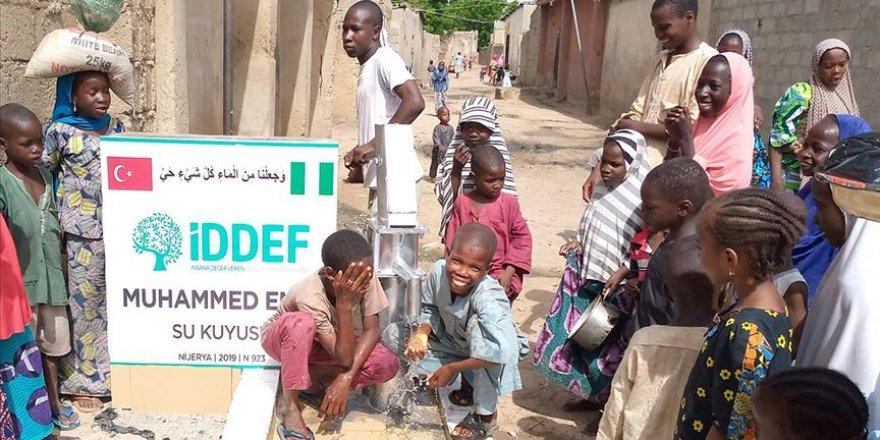 İDDEF Nijerya'da halkın temiz su ihtiyacını gidermeye çalışıyor