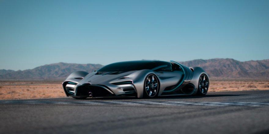 Hidrojen ile çalışan süper otomobil tanıtıldı