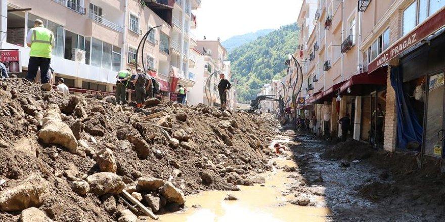 Giresun'da selden etkilenenlere 2,5 milyon TL kaynak aktarılacak