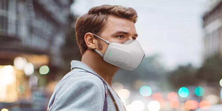 Virüsü elektrikle öldüren maske geliştirildi
