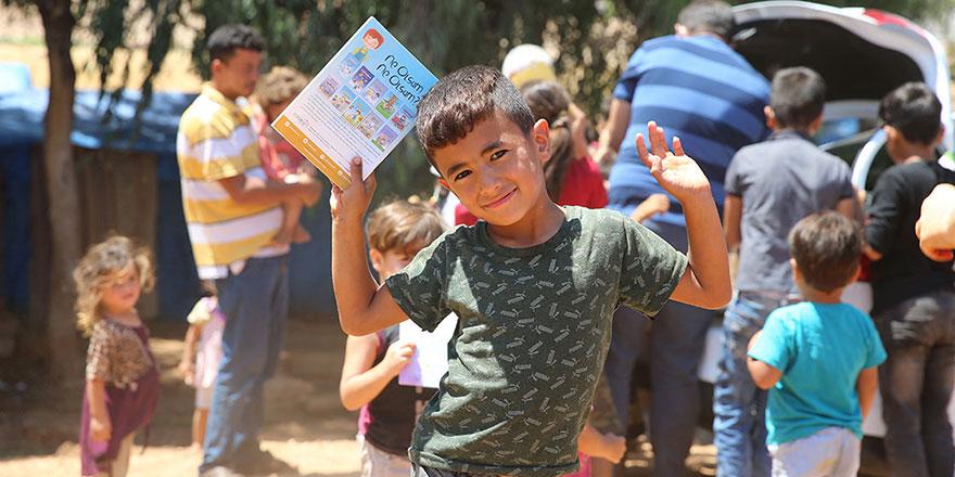 İnşaat işçisi kurduğu dernekle 30 bin kitabı köydeki çocuklarla buluşturdu