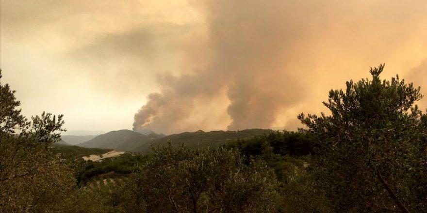 24 orman yangınının 13'ü kontrol altına alındı, 8'i söndürüldü