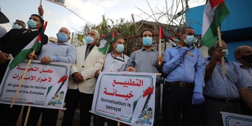 Siyonist işgal rejimi ile normalleşme Yemen'de protesto edildi