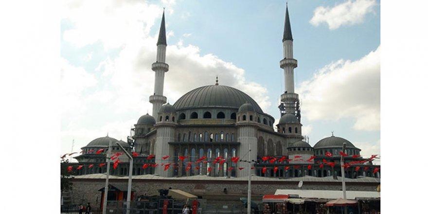 Taksim Camii'nin son hali görüntülendi
