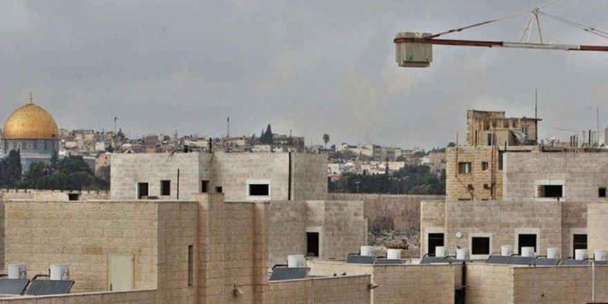 Siyonist işgal rejiminden Kudüs'te yeni Yahudi merkezi inşa projesi
